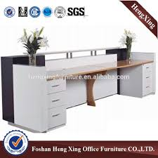 Reception Desk Price by Standard Size Competitive Price Wooden Office Reception Desk Hx