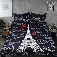 Black Duvet Covers Paris Bedding Find Premium Paris Bedding