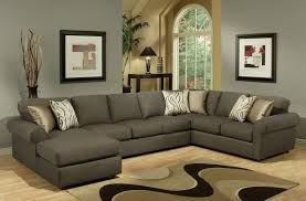 Sectional Sofa With Double Chaise Sofa Beds Design Astounding Unique Large Sectional Sofa With