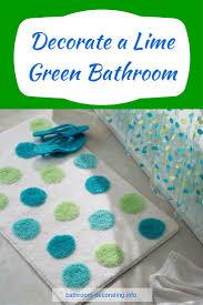 Mint Green Bathroom Accessories by Mint Green Bathroom Accessories 6pc Bathroom Accessory Set Lime