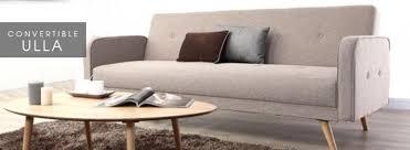 canapé design scandinave pas cher soldes canaps au style scandinave lignes pures pour votre salon
