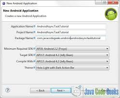 asynctask android exle android asynctask exle exles java code geeks 2018