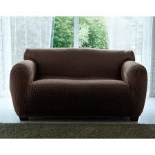 housse de canapé bi extensible housse de canapés chaises marron 3suisses