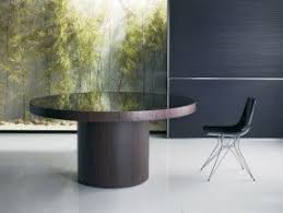 Round Glass Table Tops by Round Glass Top Dining Table Wood Base Foter