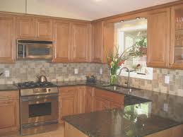 kitchen simple kitchen design with oak cabinets home design
