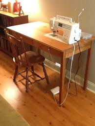 Diy Sewing Desk Sewing Table Craft Studio Ideas Pinterest Sewing Machine
