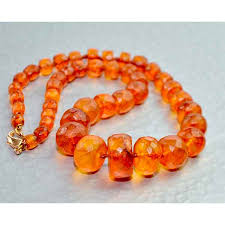 amber beads bracelet images Antique 19thc faceted cylindrical amber bead necklace divine jpg