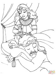 samson fighting lion coloring page free printable coloring pages