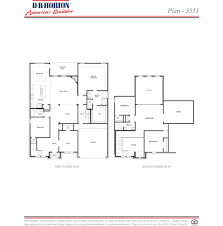 dr horton floor plan plan 3551 water crest on lake conroe conroe texas d r horton
