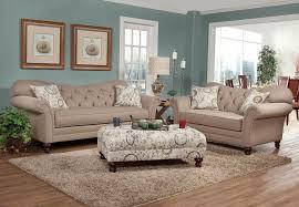 Loveseat Ottoman Serta Upholstery Abington Safari Sofa And Loveseat My Furniture