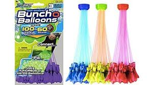 bunch balloons zuru bunch o balloons 100 balloons blue yellow waterfun product