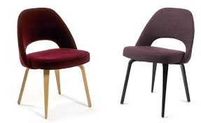 wooden chair designs saarinen executive side chair with wood legs hivemodern com