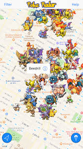 Radar Map Usa by How To Find Pokemon With Poke Radar App Business Insider