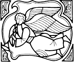 30 angel coloring pages coloringstar
