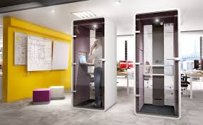 hush phone booth genesys office furniture