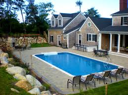 Sloped Backyard Design Ideas Furniture Surprising Images About Pool Ideas Pools Lap And