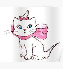 marie aristocats posters redbubble