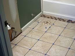 how to install bathroom floor awesome bathroom tile installation