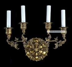 electric candle sconces for the wall mirrored candle sconce set