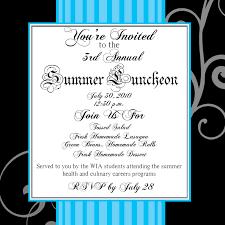 luncheon invitations sle luncheon invitation
