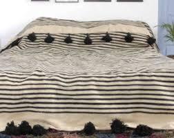 Berber Throw Rugs 158 Best Wool Pom Pom Blankets By Berber Wares Images On Pinterest