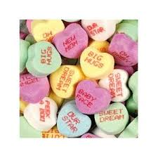 heart candy sayings conversation heart sayings history busy bee lifestyle