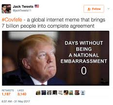 Tweet Meme - donald trump covfefe tweet memes reactions on twitter