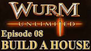 Build House Online by Wurm Unlimited Wurm Online Tutorial Build A House Youtube