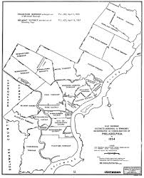 Philadelphia On Map Consolidation Act Of 1854 Encyclopedia Of Greater Philadelphia
