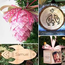Baby Customized Gifts Elora Baby U0027s First Christmas Ornaments Clearance Personalized