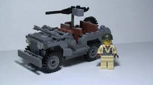 jeep lego lego brickmania jeep 4x4 willys jeep youtube