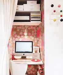 Wallpaper Closet 17 Uncomplicated Small Home Office Design Dweef Com Bright And