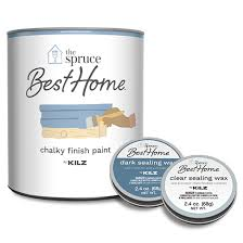 what is the best sealer for chalk painted kitchen cabinets chalky finish paint clear and sealing wax kilz