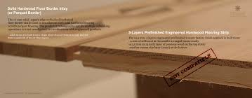 3 6 3 layers prefinished engineered hardwood flooring plank vs