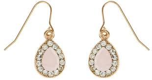 accessorize earrings accessorize teardrop devina drop earrings in metallic lyst