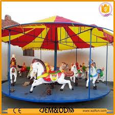 sale portable small merry go fairground carousel