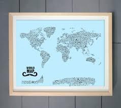 mustache styles world map wall art print the pixel prince home maps world map mustache styles world map wall art print