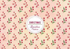 christmas pattern vector christmas berries pattern free vector stock