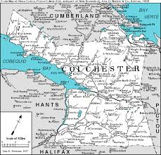 Map Of Nova Scotia Colchester Co Nova Scotia Cngenweb
