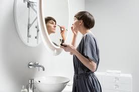 wall mounted extendable mirror bathroom wall mounted extendable mirror by miior