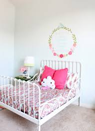 ikea girls bedding the ragged wren girls room makeover finally