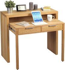 Schreibtisch Holz Hometrends4you 640222 Schreibtisch Holz Wildeiche 98 X 38 X 87