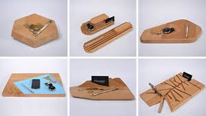 Desk Accessory Desk Accessories Designed From A Single Slab Of