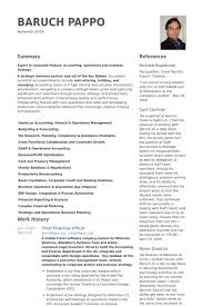 cfo resume exles chief financial officer resume sles visualcv resume sles