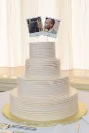 cheap wedding cake toppers polaroid wedding cake topper polaroid topper porter and reel