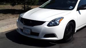 nissan altima coupe sports car update 2010 altima coupe plasti dip youtube