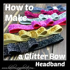 headband supplies how to make a glitter bow headband hairbow supplies etc diy