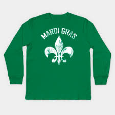 mardi gras shirts new orleans mardi gras new orleans kids sleeve t shirts teepublic