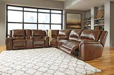 Brown Leather Recliner Sofa Leather Sectional Recliner Sofas Loveseats U0026 Chaises Ebay