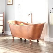 josette copper double slipper clawfoot tub bathroom beautiful